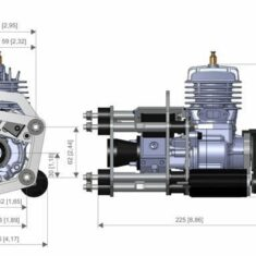 3W 28i Engine Dimensions