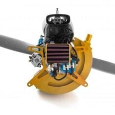 Fuel Injected UAV Engine