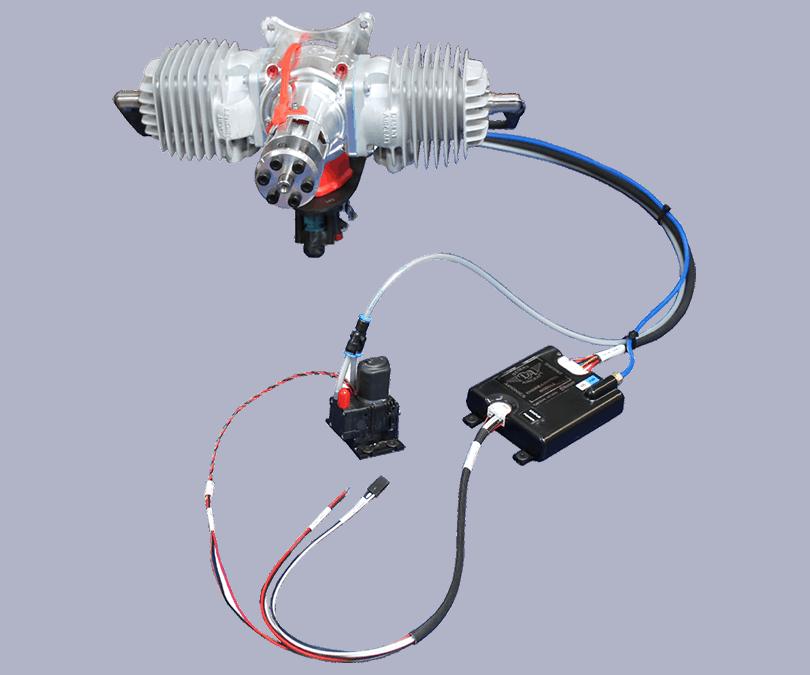 HFE DA120 Mil-Spec UAV engine