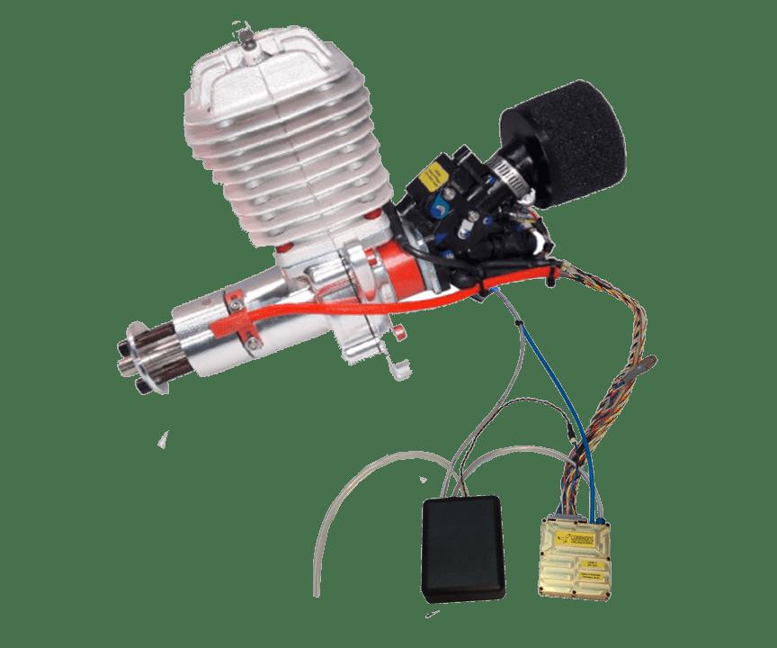 HFE DA50 EFI Mil-Spec UAV engine