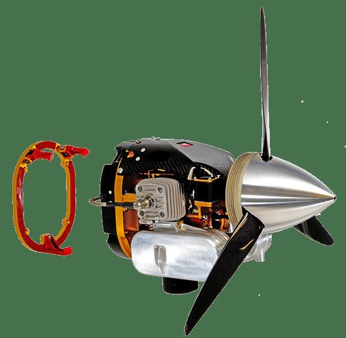 HFE DA70 GenPod - UAV Engine