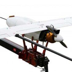 Penguin C UAV on Launcher
