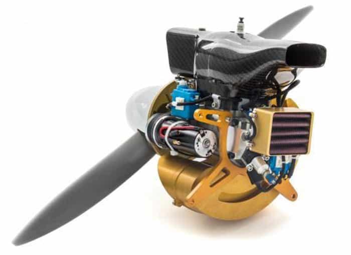 UAV28-EFI Turnkey Fuel Injected Engine