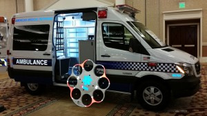 Drone America DAx8 with AMR Ambulance