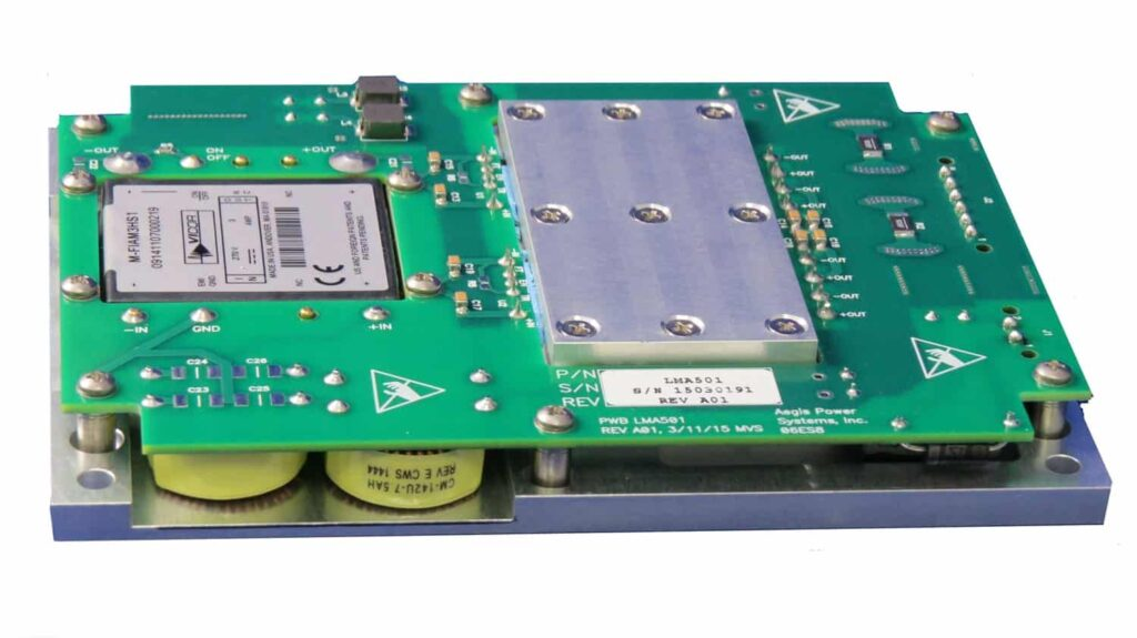 LMA501 DC-DC Power Converter Card