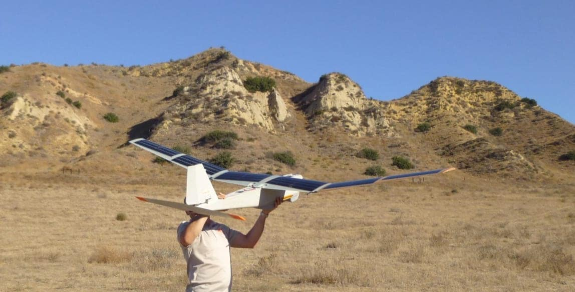 Solar Powered Uav Technology Solar Cells For Drones
