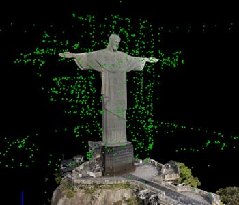 Pix4D 3D Model of Christ the Redeemer   Unmanned Systems Technology