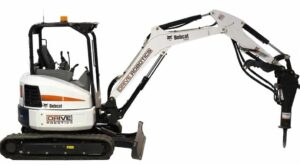 QinetiQ North America DriveRobotics Kit on Bobcat