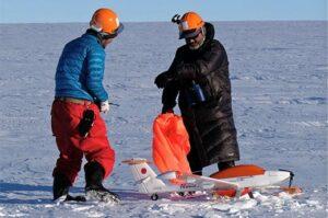 Japanese Antarctic Research Expedition Phoenix S1 UAV