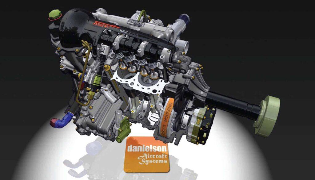 Danielson Trident engine