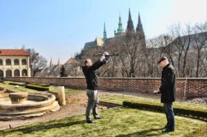 UpVision mapping of Prague Castle