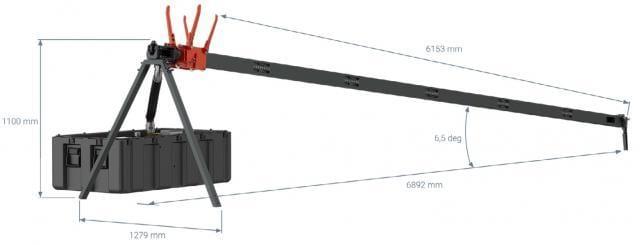 12 kJ Portable Pneumatic Catapult