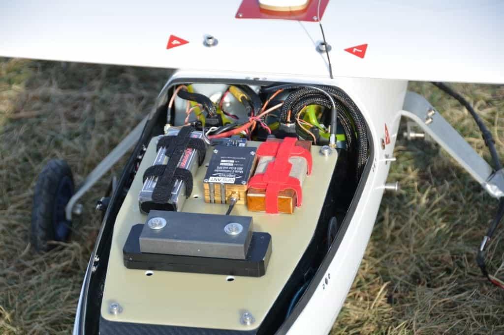 Serenity UAV with Sagetech Transponder