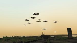 VT MAK Virtual UAV Swarm