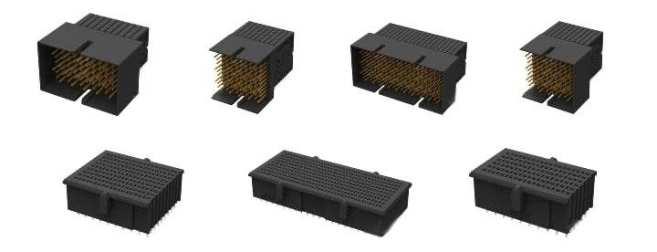 Modular PCB Backplane Connectors