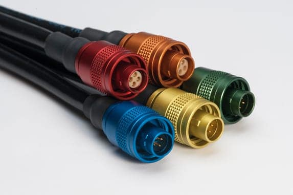 Lemo Announces New Anodised M Series Connectors Unmanned