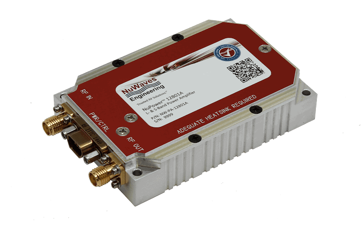 ... Upgraded L- & S-Band RF Power Amplifier | Unmanned Systems Technology