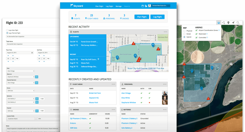 Skyward Launches Information Management Solution for Commercial Drone Operators