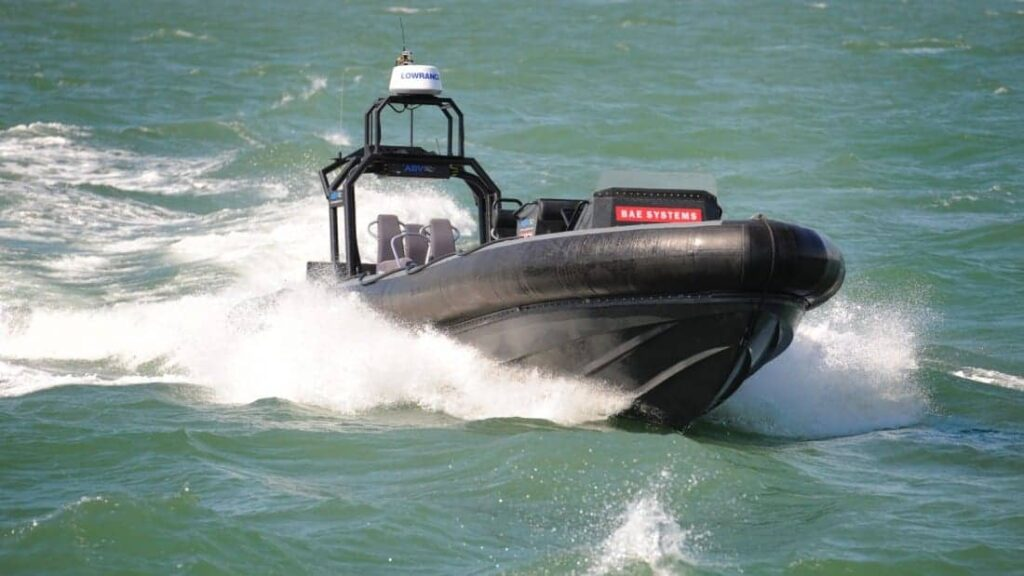 New Unmanned Naval Boat