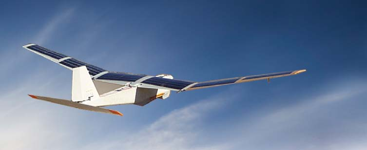 Selecting Solar Technology for Fixed Wing UAVs