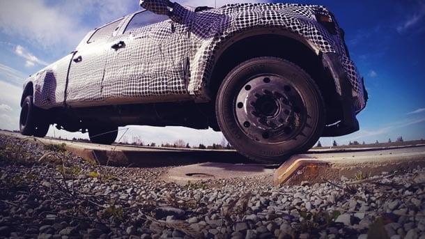 ASI robotic vehicle testing