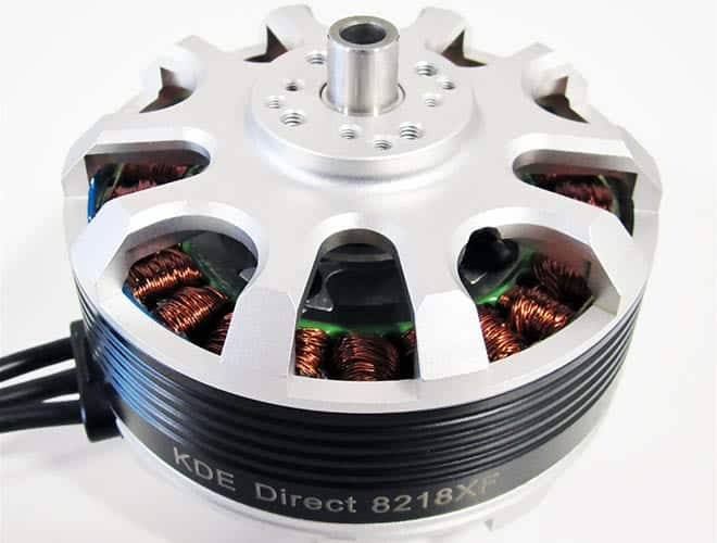 Kde Announces New Brushless Motor For Heavy Lift Drones