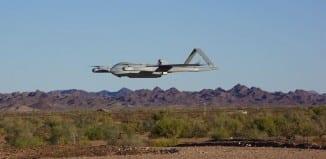 Textron Aerosonde with Hybrid Quadrotor