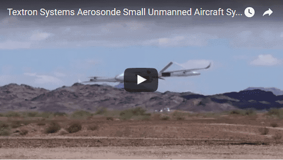 textron systems u0026 39  aerosonde small unmanned aircraft system