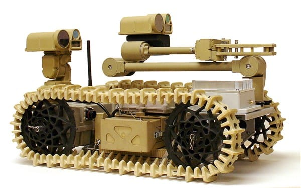 Advanced Explosive Ordnance Disposal Robotic System