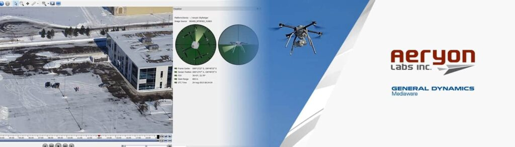 Aeryon Enhances SkyRanger sUAS Video Analysis Capabilities