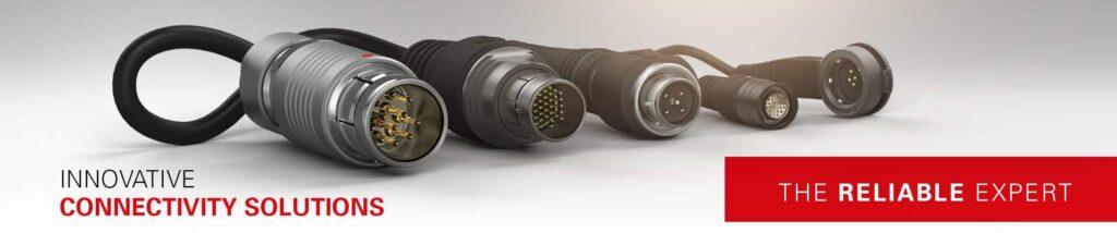 Fischer Connectors for UAVs and Robotics