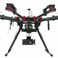 Gyro-Stabilized Gimbal for Multirotor Drones