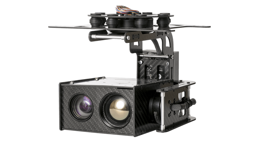 USG-302 3-Axis Gyro-Stabilized Gimbal