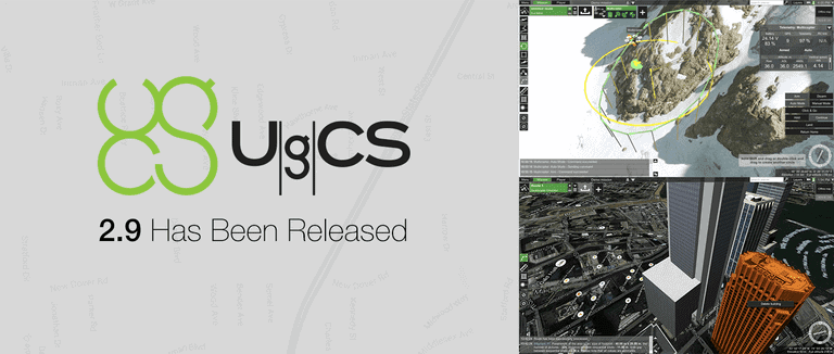 UgCS Releases New Universal Ground Control Software