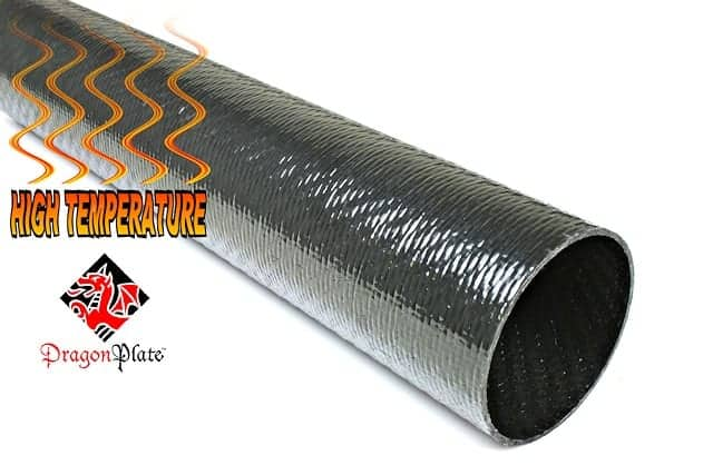 New high temperature carbon fiber composite for unmanned