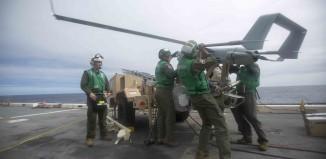 US Marines with Blackjack UAS