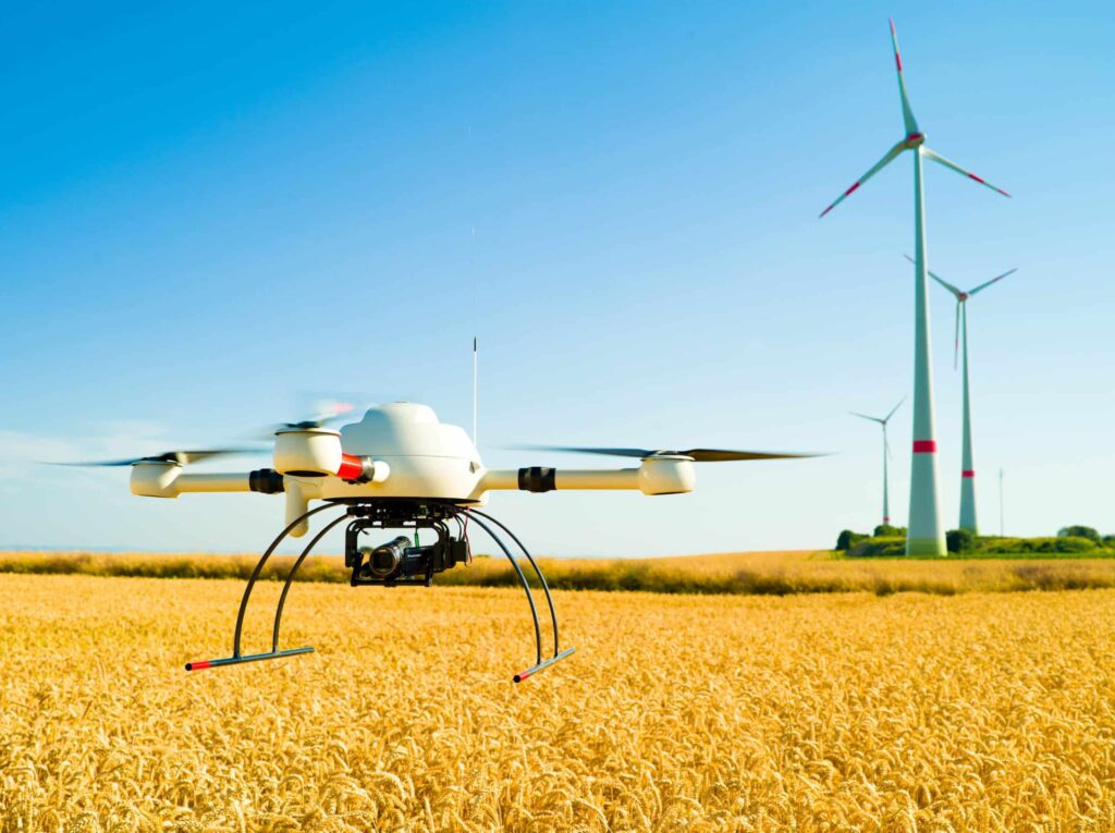 Wind Turbine Inspection Drone