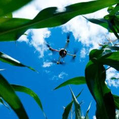 microdrones md4-200 Agricultural Drone