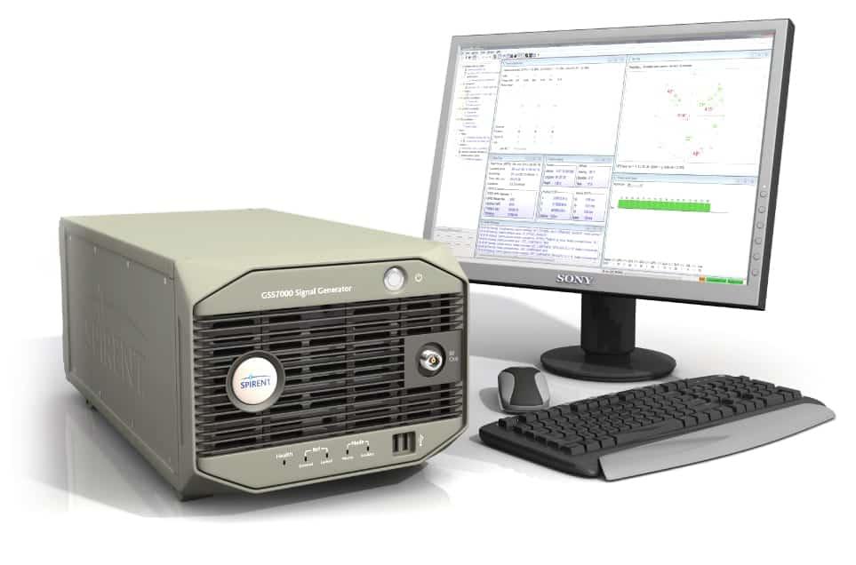 GSS7000 Multi-GNSS Constellation Simulator System