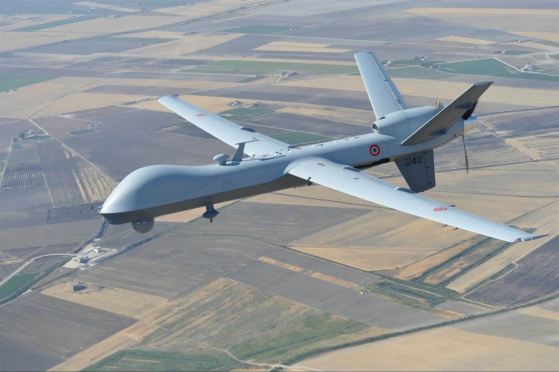 Predator B UAS Equipped With Automatic Takeoff and Landing