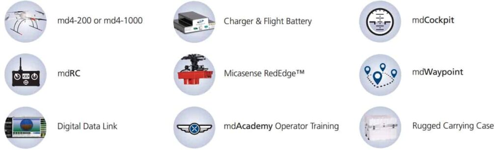 mdAgScanner Precision Agriculture Drone Package