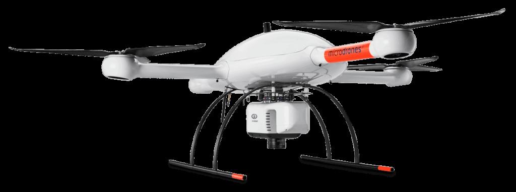 mdLiDAR3000 Quadcopter UAV Solution