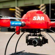 microdrones md4-1000 Rescue Drone