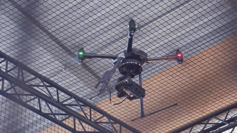 Aerialtronics Neurala and NVIDIA demo drone