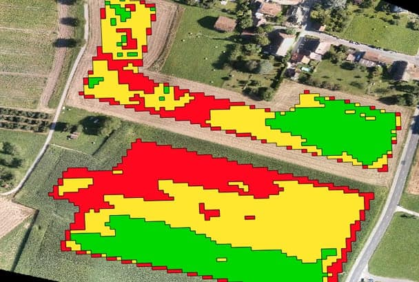 Agriculture Drone Application Map