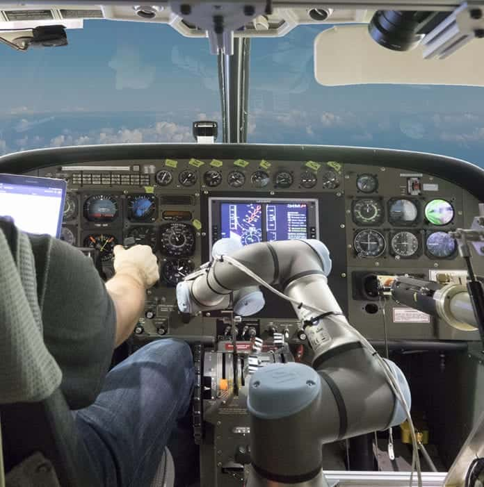 Aurora demonstrates automated flight capabilities
