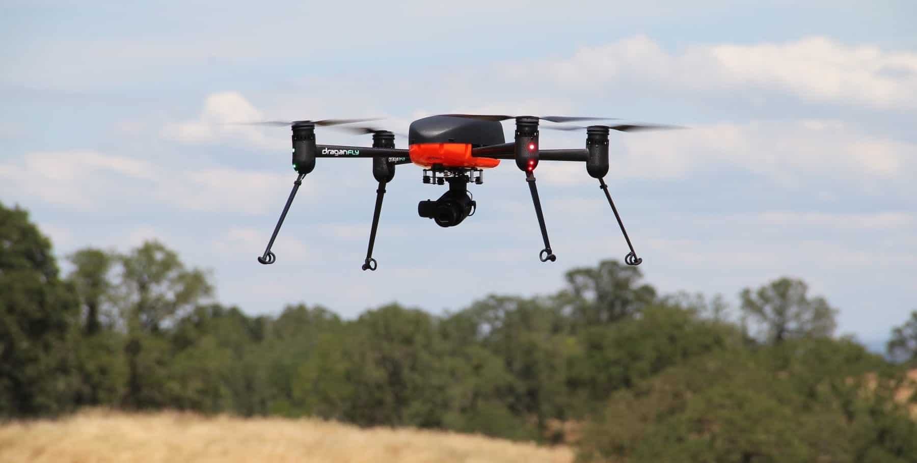 Draganfly To Test New Miniaturized Hyperspectral Sensor