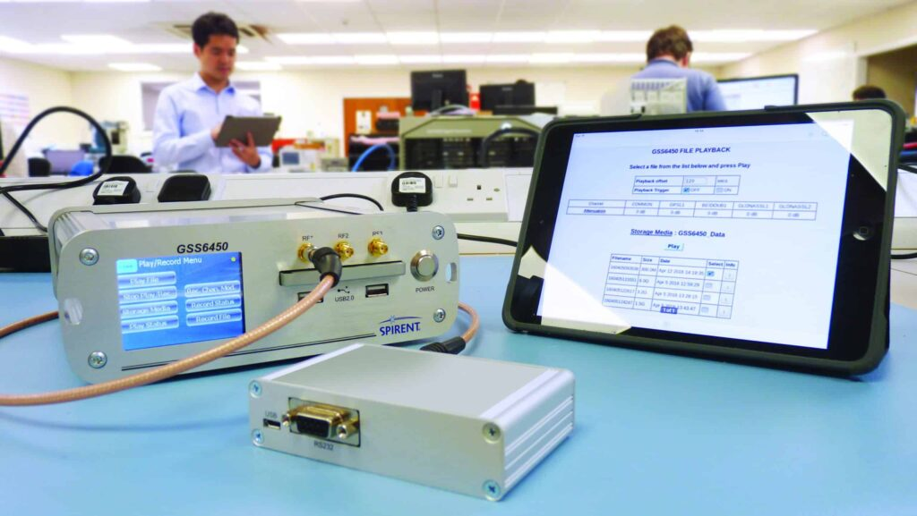 GSS6450 RF Record & Playback System for Multiple constellation testing