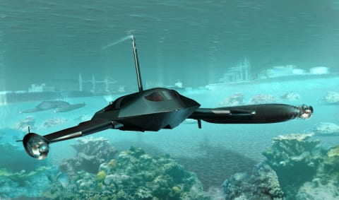 Juliet Marine Systems Submersible Unmanned Surface Vehicle