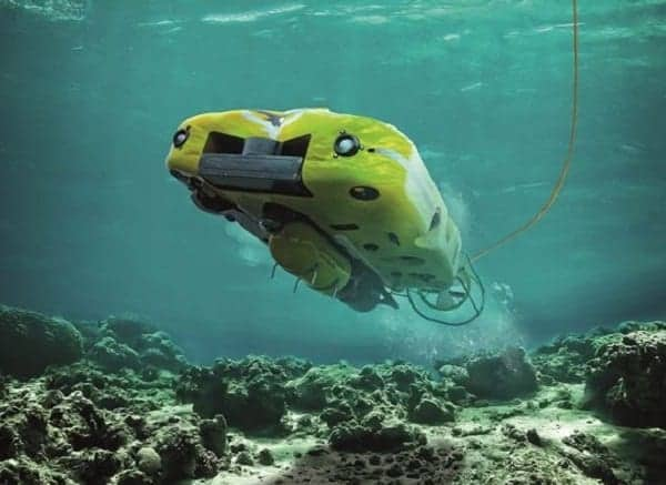 Saab Unmanned Underwater Vehicle